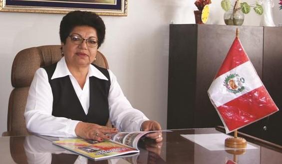 Profesora Hilda Ticlla de Chafloque